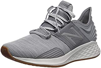New Balance Men's Fresh Foam Roav V1 Sneaker, Gunmetal/Summer Fog, 9.5 M US