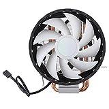 SONK Radiador, Ventilador De Enfriamiento De CPU De 2 Tubos, Luz...