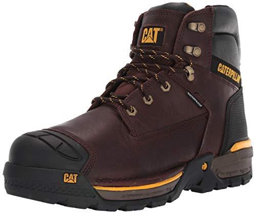 """Caterpillar mens Excavator Lt 6"""" Waterproof Work Construction Boot, Espresso, 11 US"""