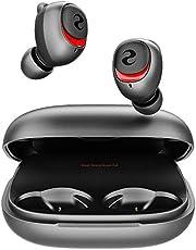 Bluetooth イヤホン TWS 完全 ワイヤレス イヤホン iPhone Qualcomm® 音楽チップiPhone Android ブルートゥースイヤホン aptX/AAC/SBC対応 HiFi 重低音 CVC8.0ノイズキャンセリングAir IPX7防水Pods iPhone/iPad/Mac/PC対応 (ブラック)