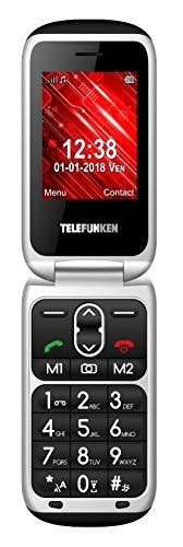 TELEFUNKEN - Teléfono Móvil Libre Telefunken Tm240 Negro