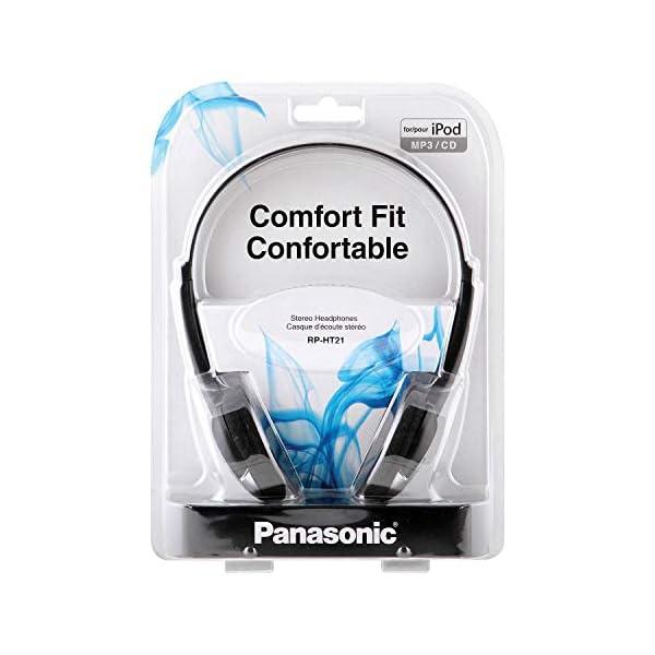 Panasonic Lightweight Headphones with XBS Port 4