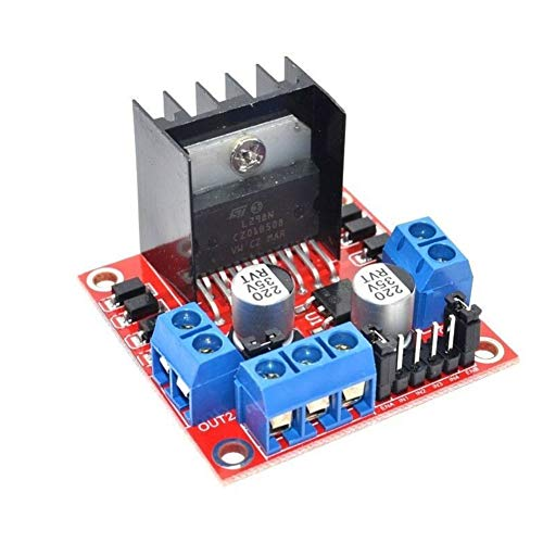 Rabusion Practical For L298N DC Stepper Motor Driver Module Dual H Bridge Control Board for Arduino
