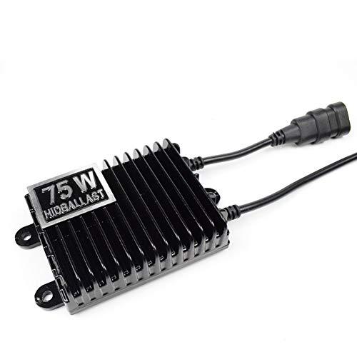 AKDSteel 75 W HID-Vorschaltgerät, 12 V, Hochleistungs-Autolicht-Upgrade Zubehör