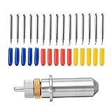 Cortador de fresado de superficie A estrenar 15 piezas/set de cuchillas de 30/45/60 de grado, usadas para cortar soporte de plotter para cortador de papel