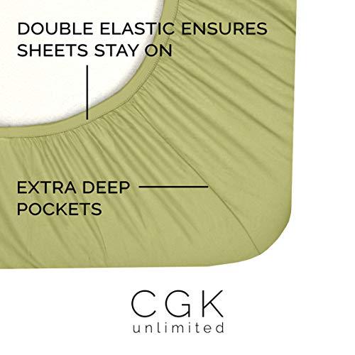 CGK Unlimited 4-piece King Size Sheet Set