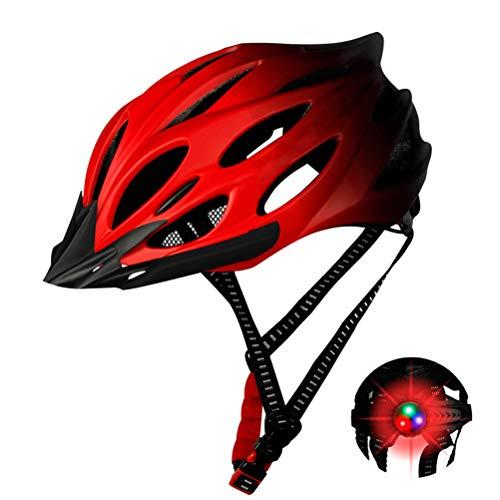 BSTCAR Caschetto Bici Motociclo, Casco Giro Casco da Ciclismo Unisex per Bici da Corsa Allaperto Sicurezza Sportiva Casco da Bicicletta Superleggero Regolabile