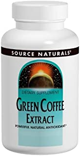 SOURCE NATURALS Green Coffee Extract 500 Mg Tablet, 120 Count