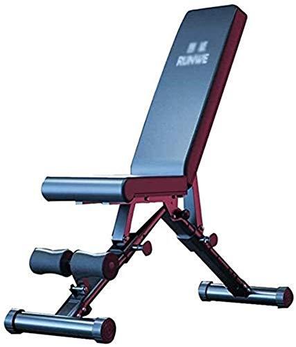 LAMTON Panca Portatile Sedia Sit-up Panca Pieghevole banco di Allenamento manubri Panca for Body Workout Fitness Training for Full Body