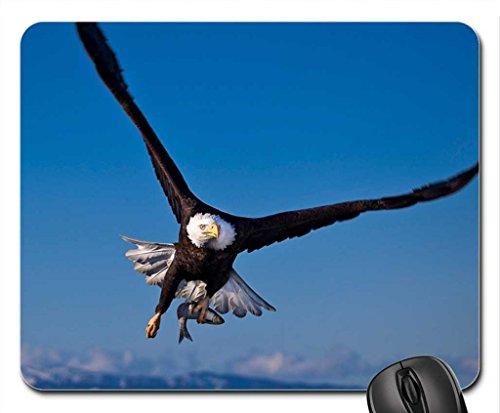 Vina Fishing Eagle Mouse Pad, oiseaux Tapis de souris (Mouse Pad)