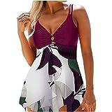 ORT High Waisted Bikini Plus Size, Swimsuits for Women Bikini Set Two Piece Swimsuit Cute Bathing Suits Summer Beach Swimwear Cover Up Swimsuits