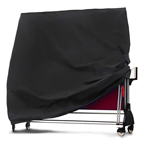 Molare Housse de Protection de Table de ping-Pong, Housse de Protection pour Table de ping-Pong, étoffe imperméable en Tissu Oxford 210T pour intérieur en extérieur (65 x 73 x 28 Pouces)