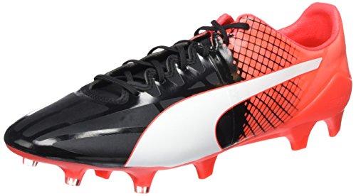 Puma Herren EVO SPEED 1.5 FG 103597 Fußballschuhe, Schwarz black White-Red blast 03, 43 EU