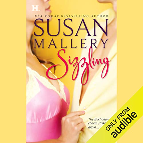 Sizzling audiobook cover art