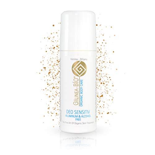 GiiLinea Bio Organic Deodorant Roll On | Sensitiv Deo Roll-On ohne Aluminium & Alkohol | 100% Bio & Vegan | Natürliches Deo für sensible Haut | 24h Schutz | aus Österreich |