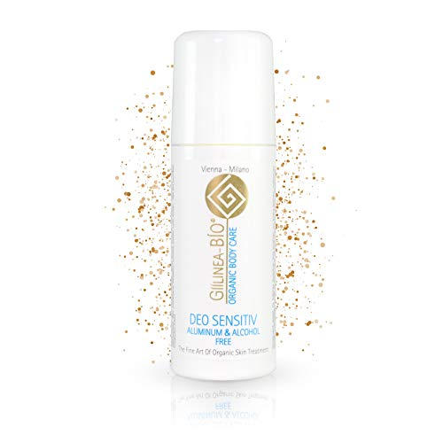 GiiLinea Bio Organic Deodorant | Sensitiv Deo ohne Aluminium & Alkohol | 100% Bio & Vegan | Natürliches Deo für sensible Haut | 24h Schutz | aus Österreich |