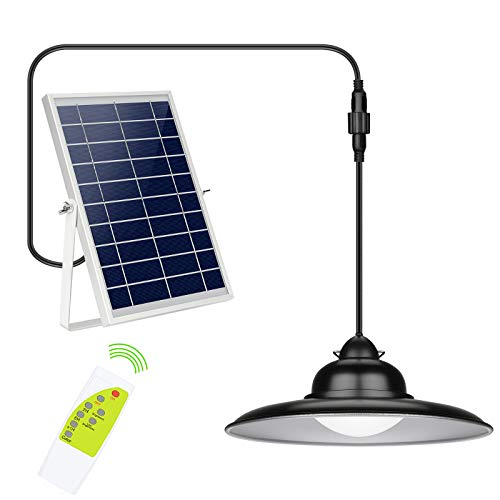 Upgraded 3-Color in 1 Solar Lights Outdoor 16.4FT, IP65...