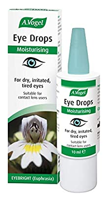 A.Vogel Moisturising Eye Drops | With Euphrasia & Hyaluronic acid | For Dry and Irritated Eyes | 10ml
