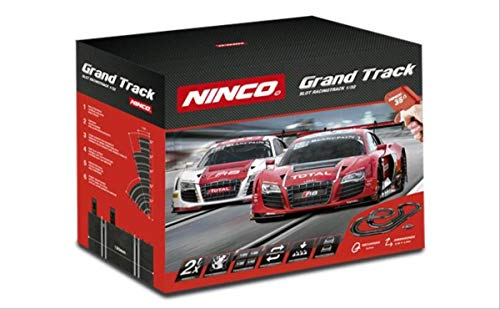 Ninco - Grand Track. Circuito Pista de Slot. Incluye 2 Coches Audi R8 GT3. 20194