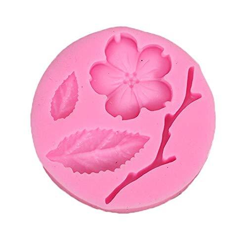 Moule À Gâteau Noeud Papillon Fleur 3D Fondant Moule En Silicone Outil De Décoration De Gâteau Au Chocolat Savon Moule Cuisine Accessoires De Cuisson 1 Pièce-Ré