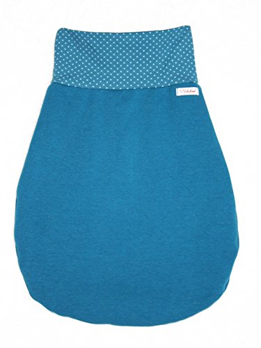 Annsfashion - Gigoteuse - Bébé (garçon) Bleu Pétrole 70 cm