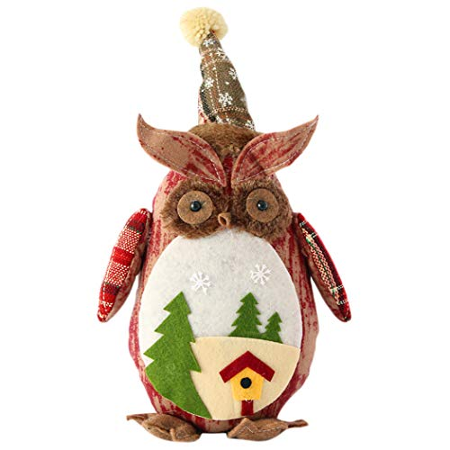 Funpa Décoration de Noël Décoration de Bureau de Noël