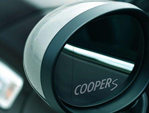 bester der welt Zwei Mini Cooper S Spiegelaufkleber, Frost Sheet Sticker, UV und… auf einer Milchglasscheibe 2021