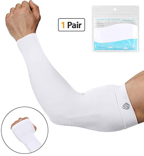SHINYMOD Compression Sleeves Arm Warmer Sunblock Sleeves for Men and Women