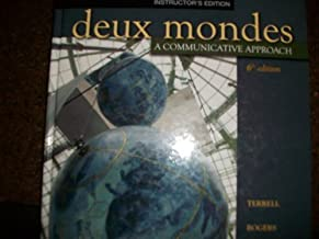 Deux Mondes: A Communicative Approach 6th edition by Terrell (2009) Hardcover