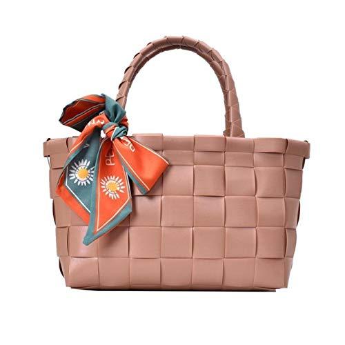 Tylyund Picknickkorb Mode Stricken Handtaschen Frauen Luxus Designer Leinen Stroh Weibliche Reise Sommertasche Gewebte Korb Tote Picknickkorb