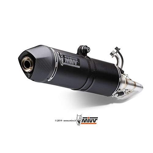 MVS043LBSC - Línea Completa Stronger Acero Negro Burgman 125/200