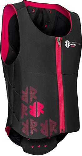 Komperdell Kinder Ballistic Vest Rückenprotektor, schwarz-pink, 140