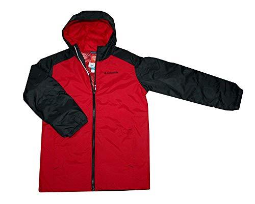 Columbia Boy's Snowpocalyptic Thermal Coil Waterproof Jacket (S 8) Red/Black
