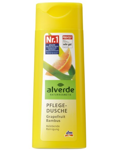 Alverde Pflegedusche Grapefruit Bambus, 2er Pack (2 x 250 ml)