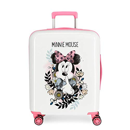 Trolley rigido cabina Minnie Style flores