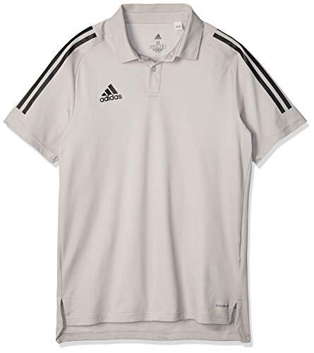 adidas Herren Condivo 20 Polo Poloshirt, Team mid Grey/Black, 3XL
