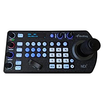 BirdDog PTZ Keyboard Controller with NDI VISCA RS-232 & RS422 Comms Compatible