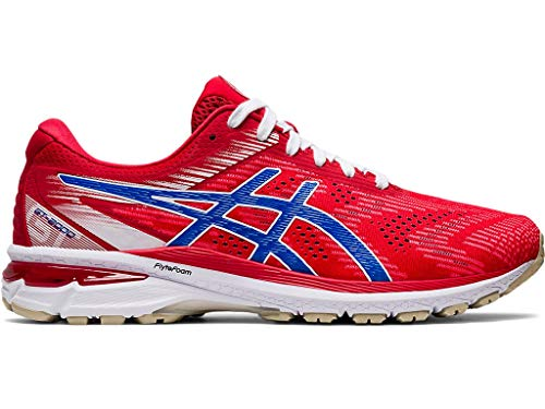 ASICS Men's GT-2000 8 Running Shoes, 10M, Classic RED/Electric Blue