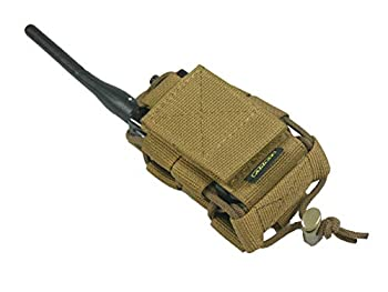 tactic.world M.O.L.L.E Pouch Bag Radio Phone GPS  Coyote Brown
