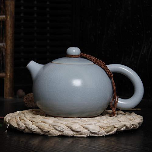 Tetera de porcelana de estilo japonés Tetera, tetera de cerámica, juego de té