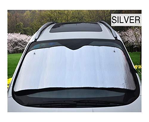 Parasol Coche Protección contra el calor del verano sombrilla del coche del parabrisas Sunshades 5 Capa Malestar pantalla engrosamiento del papel de aluminio de la ventana delantera sombrillas Cortina