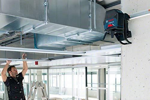 Bosch Professional Kreuzlinienlaser GCL 2-50 (5x AA Batterien, Arbeitsbereich: 50m, im Handwerkerkoffer) - 2