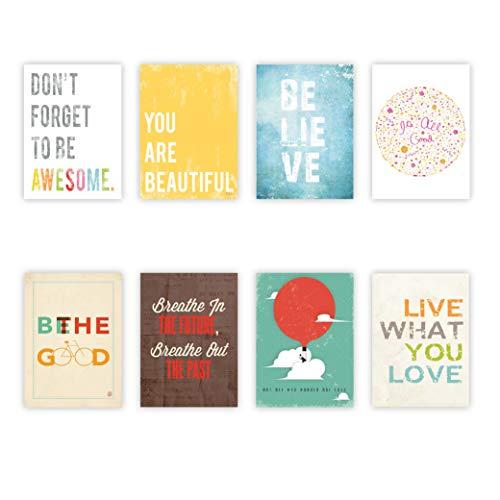 Children Inspire Design inspirer les cartons muraux collection mini 5 x 7, typographie, pépinière décoration, sticker enfant impression, décoration des chambres de l'enfant, non sexiste