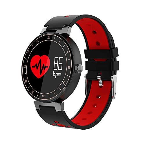 AZZ kleurenscherm smart armband uniseks, activiteitstracker met hartslagmeter, IP67 waterdichte smartarmband met stappenteller, pedometer, horloge voor kinderen, vrouwen en mannen
