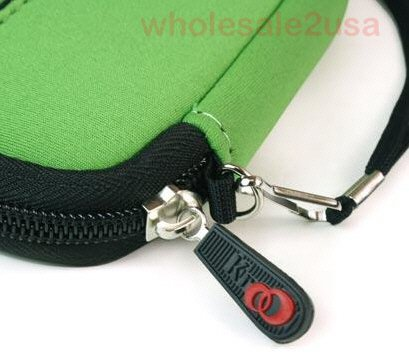 - Green High-Quality Mini Sleeve Pouch Bag for Nikon Coolpix S570 Digital Camera {+ 1pc name tag} -- Best Seller on Amazon!