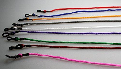Brillenband, Brillenkordel verschiedene Farben (schwarz)