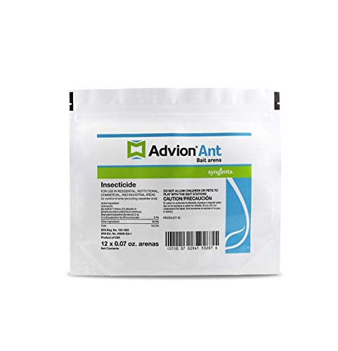 advion 68662 Arena 12ct Bag Insecticide Ant Bait Station, White
