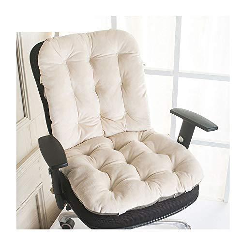 ZXCVBNM, cuscino per sedia da salotto e poltrona, spessore allungabile, pieghevole, in vimini, per mobili da cortile, cuscino per panca troppo imbottito, adatto per tutti i tipi di scene (50 x 135 cm)