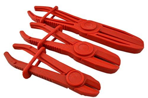 SPTTOOLS Ensemble de pince pour tuyau flexible Colliers de conduite de carburant de frein Outils