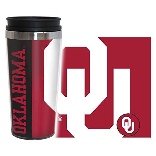 Oklahoma Sooners Travel Mug - 14 oz Full Wrap - Hype Style